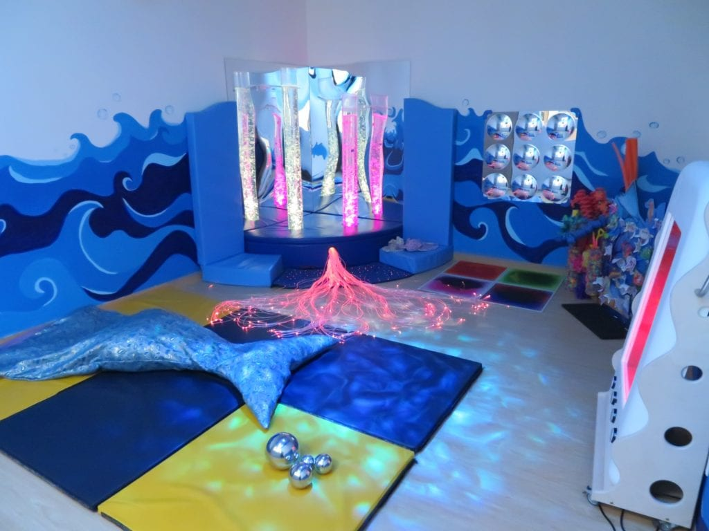 IIS Ocean Snoezelen Room for Special Needs Children